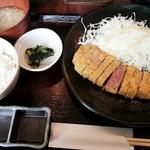 57820896 - 牛カツ定食 980円(オープン価格)2016/10