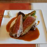 イタリア料理イケミ - 牛テンダーロインのロティ