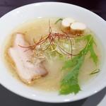 塩麺独歩相棒 - 塩麹独歩ラーメン 650円