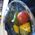 柳屋 - 夏野菜の煮びたし