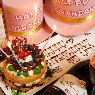 【サプライズ】ケーキをプレゼント♪