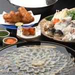 割烹 天ぷら 三太郎 - 下関直送とらふぐコース ¥12,000