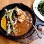シマイロカフェ - 復活したカレーメニュー(秋野菜のカレー)