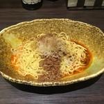 中華そば くにまつ - 汁なし担々麺(580円)1辛