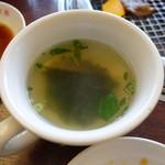 明月館 - スープ