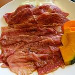 明月館 - バラ肉
