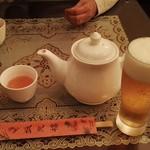 57829681 - 中国花茶とビール