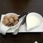 ビストロマエダ - 角砂糖&ミルク