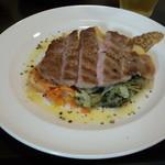 ビストロマエダ - コレナイ豚肩ロースステーキ