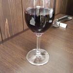 ビストロマエダ - 赤ワイン(ブエノスディアス カベルネ・ソーヴィニヨン)(600円)
