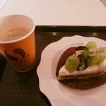パティスリー ラオ - 有機珈琲と季節の花タルト