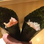 SUSHI TOKYO TEN、 - ねぎとろ巻き