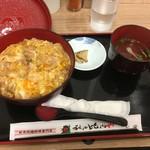 秋田比内や - 比内地鶏親子丼1080円税込(阪神百貨店催事)