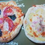 手作りパン ひより - 料理写真:ピザ2種