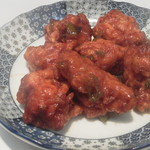 赤ずきん - 鶏のからあげ油淋ソース(300円)