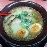 博多ラーメン天外天 - 【タマユラーメン + 煮玉子】¥650 + ¥100