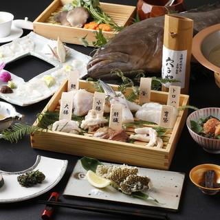 希少な高級魚、「天然クエ」の鍋コースは10,000円より