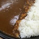 カレーの店 路 - ビーフカレーサラダ付