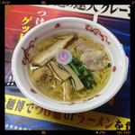 若武者 -  青森シャモロック塩中華860円