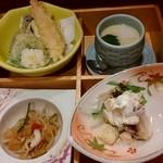 海鮮屋 八丁櫓 - 天ぷら、小鉢