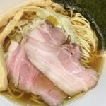 麺屋りゅう - 淡麗煮干しそば(アップ)