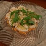 ラ テッラ - 蒸し鶏のサラダ仕立て