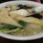 穂久柳 - しゃもと野菜の塩ラーメン