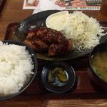永山本店 - カキフライ定食