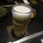 お好み焼 まるう - 生ビール