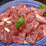 百姓や - 料理写真:上カルビ・カルビ・和牛ハラミ