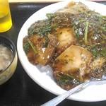 台湾料理 餃子坊 - 豚の角煮丼