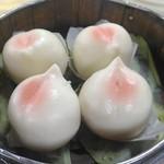 台湾料理 餃子坊 - 桃まん