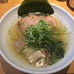 ラーメン巌哲 - 鮪塩