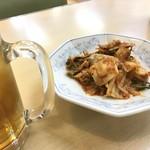 くるまやラーメン - キムチで一杯!!