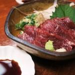 toriteisakura - 「馬刺し」             熊本県産直送の馬刺し