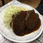 キッチン南海 - ハンバーグライス(2枚)