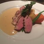 イタリアン 四谷マル - 鴨肉のソテー