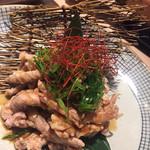 九州料理 薩摩太鼓 - 鶏皮ポン酢