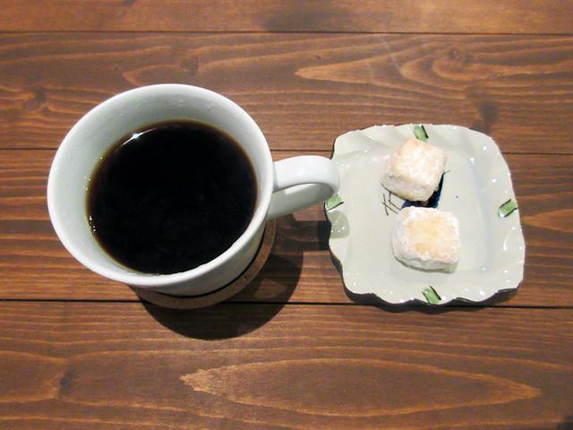 奈良ゲストハウス 神奈寐 - コーヒーハウスブレンド 税込300円