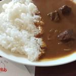 びすけっと - ビーフカレー(サラダ付き)