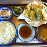 友禅 - 天ぷら定食