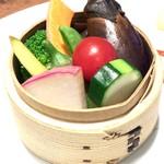 三浦の蒸し野菜