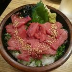 57847525 - 桜鉄火丼ランチ 税込540円(食べログワンコインランチ)