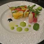 アキヒサ ハンダ - 北海道野菜のテリーヌ