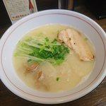 黒船 - 屋台村限定 鶏白湯らーめん(¥800)