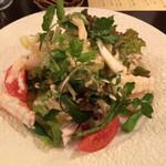 ユリイカ - 5周年記念ディナー 手長海老とホタテのサラダ仕立て