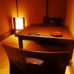 鉄板焼と和食 宴 - 2名様用奥座敷