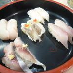 廻転寿司 海鮮 - 地魚セット