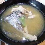 廻転寿司 海鮮 - あら汁