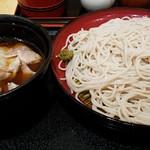 小諸そば - 香味豚せいろ 大盛 2016.10